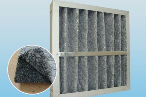 折叠式活性炭过滤器